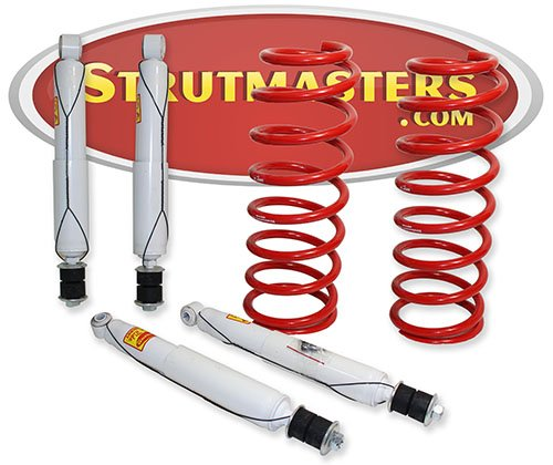 Strutmasters 4 Wheel Hydraulic Suspension Conversion Kit for 1998-2007 Lexus LX 470