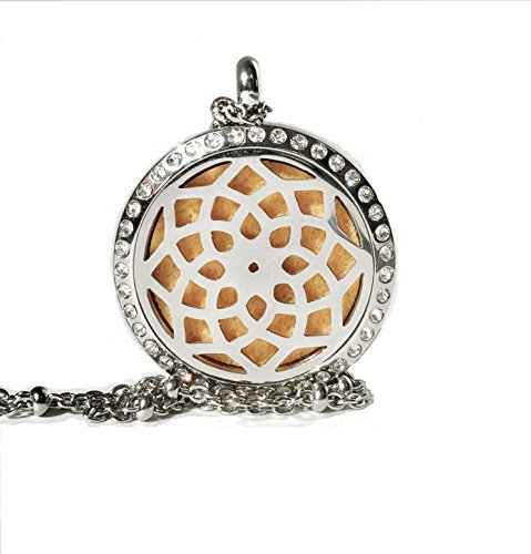 sunflower-pendant-aromatherapy-necklace-fivefold-fox-essential-oil-diffuser-openwork-stainless-steel
