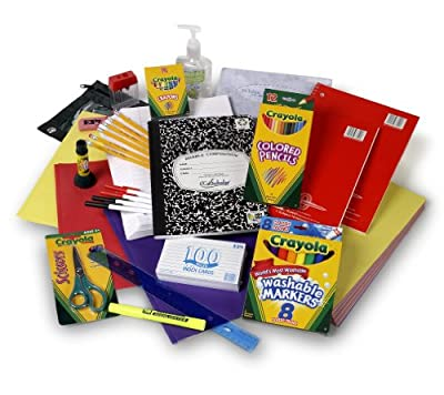 Crayola Third through Fifth Grade Supply Pack by SchoolWrapPac