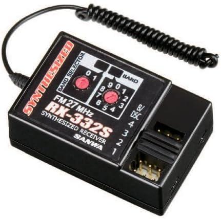 三和電子機器 RX-332S FM27MHz-4ch シンセサイザー 水上・陸上用 107A40781A