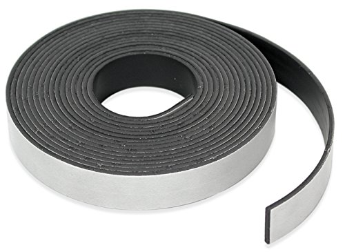 Adhesive Magnet Tape - Master Magnetics Roll-N-Cut Flexible Magnetic Tape Refill - 1/16