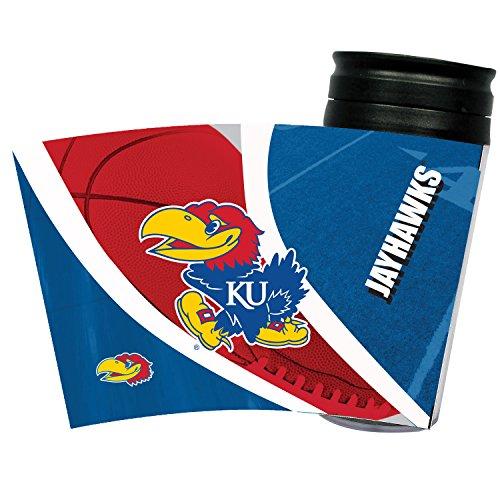 Kansas Jayhawks Travel Mug - 7