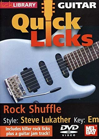 quick licks for guitar steve lukather dvd