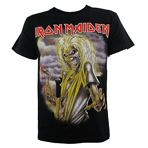 Iron Maiden Men's Killers T-Shirt Black S ()