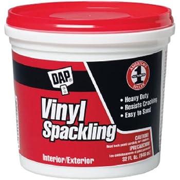 Dap 12132 Vinyl Spackling Compound Interior, 1-Quart