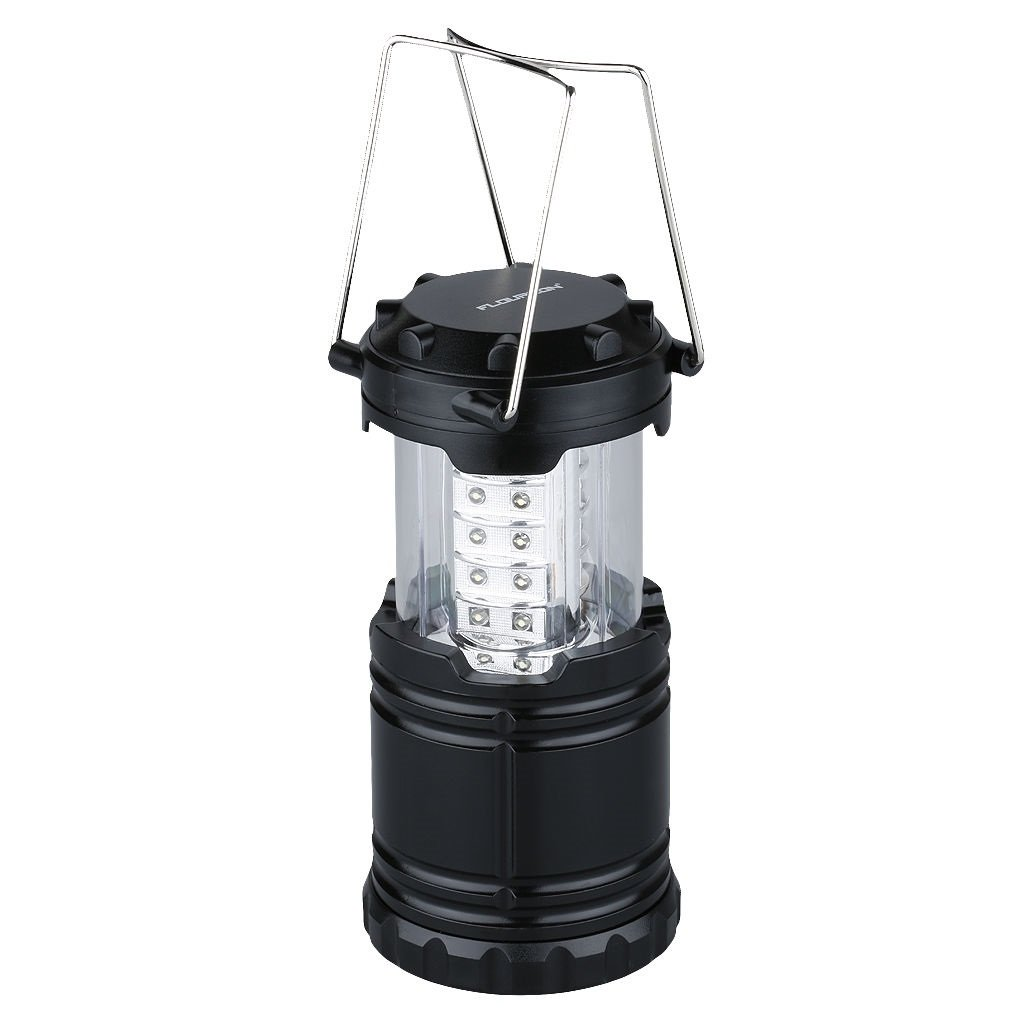 Begana Portable Camping Lantern Flashlights with 30 LED Bulbs - Restractable & Lightweight & Water Resistant Camping Light, Great for Hiking & Camping & Emergencies & Travel, Black by Begana (Image #3)