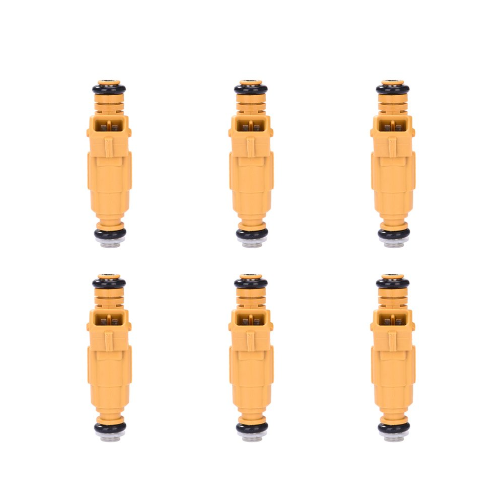 Catinbow 0280155700 0280155710 6PCS Engine Fuel Injector Set for Jeep Grand Cherokee Wrangler Comanche 4.0L Ford Mercury Lincoln 4.6L 5.0L 6.8L