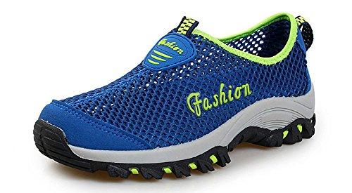 Eagsouni Chaussures Femme Plage Aquatique Piscine de Chausson Chaussons pour D'eau Homme Chaussure Bleu qwqO6T