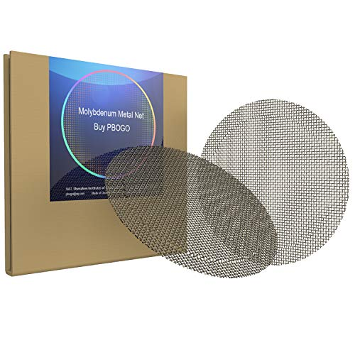 Mesh Screen Compatible for Searzall,3 inch Molybdenum Metal Net Melting Point of 4,753 °F for Searzall Screen Replacement
