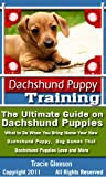 Dachshund Puppy Training: The Ultimate Guide on Dachshund Puppies, Includes Everything You Need to Know When Bringing Home a New Dachshund Pupppy