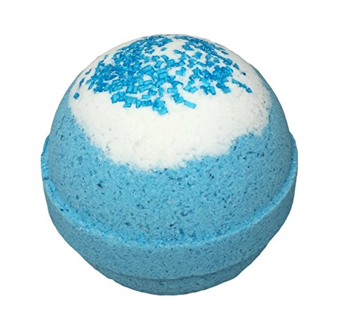 Frozen Inspired Bath Bomb with Surprise Frozen Necklace Inside
