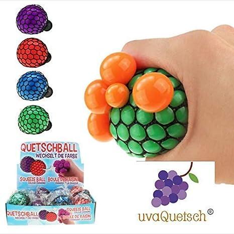 + Zufall + Antistressball Stressball Knetball Quetschi inkl Geschenkbox UvaQuetsch /® Black/&White Quetschball 2019 +