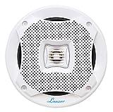 Lanzar AQ5CXW 400 Watts 5.25-Inch 2-Way Marine Speakers White