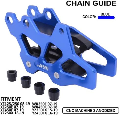 Motorcycle Rear Chain Guard Guide Protector For Yamaha YZ125 YZ250 2008-2019 YZ250F YZ450F WR250F 2007-2019 YZ250X YZ450FX 2016-2019 WR450F 2007-2018 YZ250FX 2015-2019