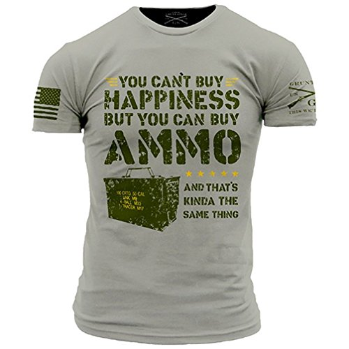 Grunt Style Ammo Is Happiness Mens T Shirt  Size Xl