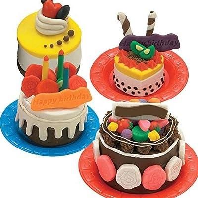 Amazing Amazon Com Mytoy Kids Playdough Birthday Cake Colorful Chocolate Personalised Birthday Cards Veneteletsinfo