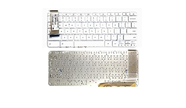 for HP Chromebook 14-X010NR 14-X039WM 14-X040NR 14-X050NR US white Keyboard