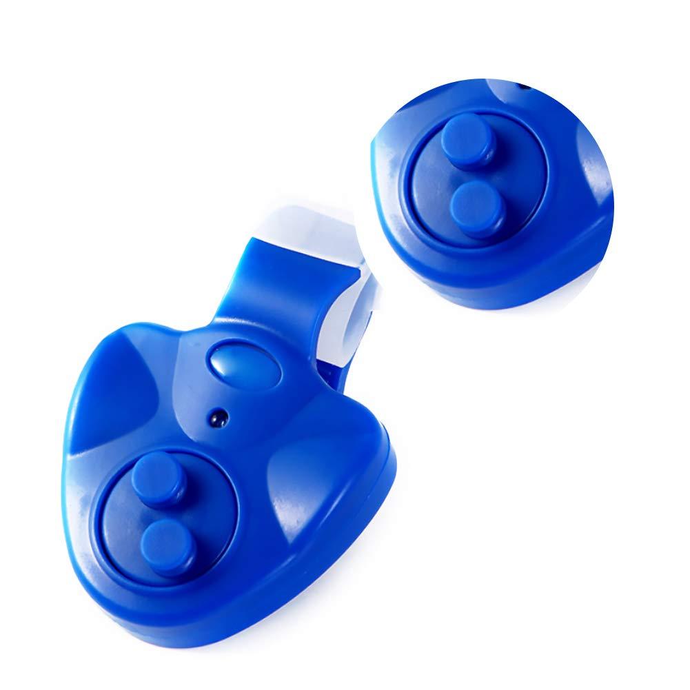 KEYkey Angeln Bissanzeiger LED-Ton-Fisch-Bissanzeiger LED-Lampe Angelrute Alarm Fisch-Sucher Wireless-Ton Alarmsummer f/ür Outdoor Angeln Red 1PC