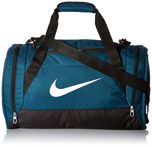 Nike Brasilia 6 Extra Small Duffel Gym Training Bag Midnight Turquoise/Black (Brasilia Nike Bag compare prices)