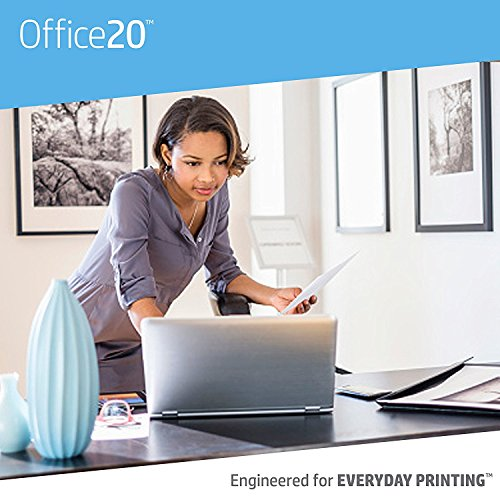 Large Product Image of HP Printer Paper, Office20 Paper, 8.5 x 11, Letter Size, 20lb, 92 Bright, 3 Ream Case / 1,500 Sheets (112090C) Acid Free Paper