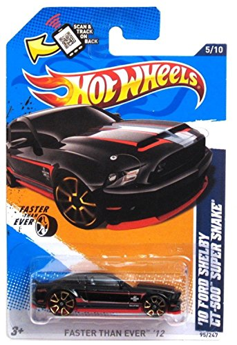 Shelby Super Snake - 2012 Hot Wheels Faster Than Ever '10 Ford Shelby GT-500 Super Snake 5/10 - 95/247.