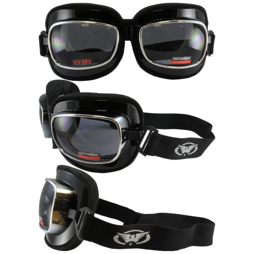 Steampunk and Mad Max Style Goggles. Big and Padded. Chinese or Japanese Fighter Pilot - Japanese Eyewear Frames