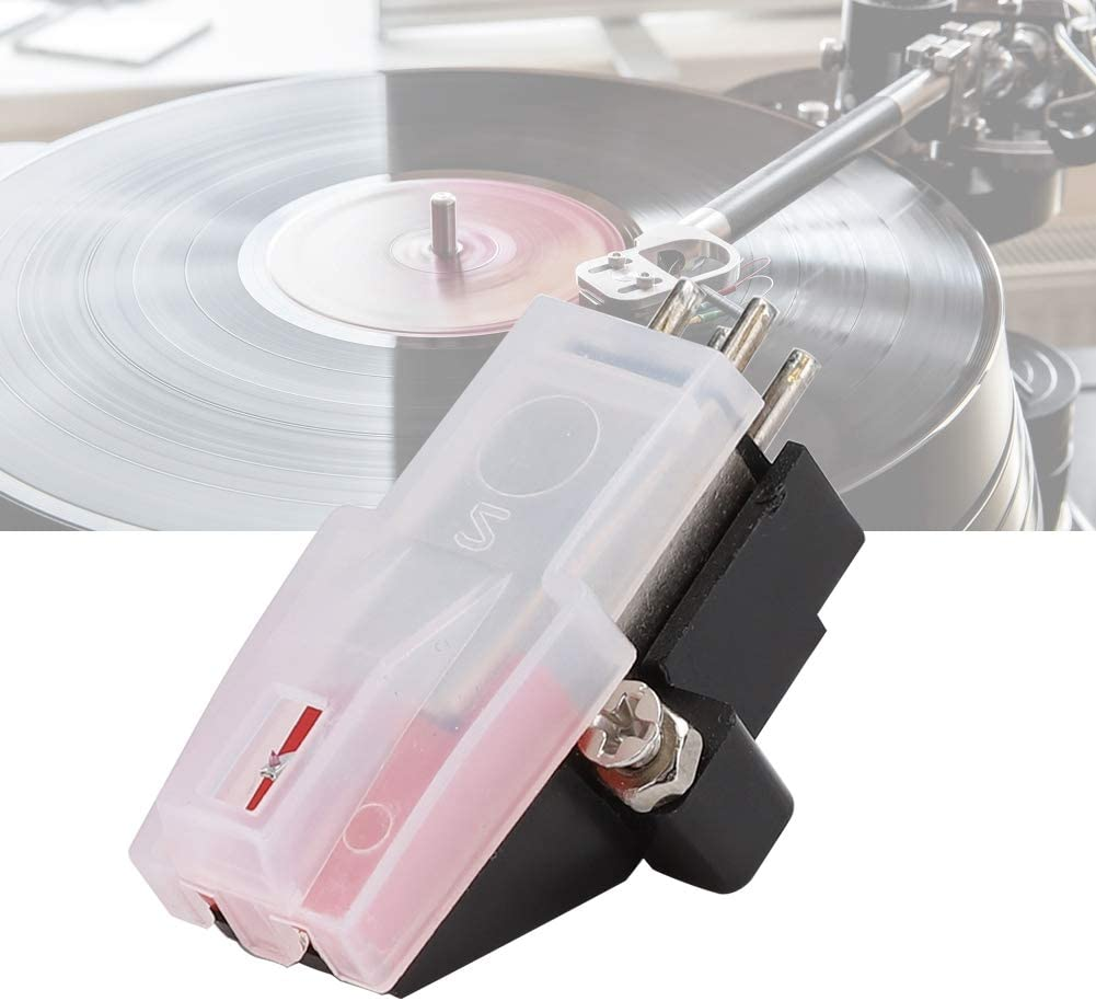 AMONIDA Vinyl Turntable Cartridge Dual Moving Magnet Stereo with Needle Stylus for Record Player