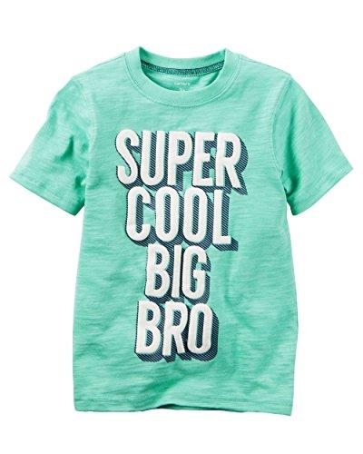 Carters Toddler Boys Super Cool Big Bro T-Shirt (5T)