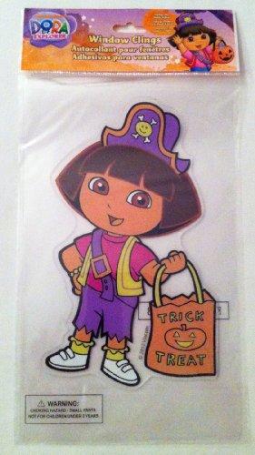 Dora the Explorer Halloween Window Gel Cling]()