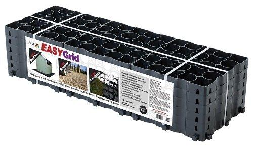 51nA1WSxhNL - Grid grass ground and drive stabilisation reinforcement 2M² Retail Pack Black