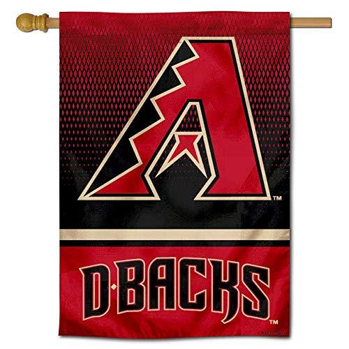WinCraft Arizona Diamondbacks Double Sided House Flag Arizona Diamondbacks Banner Flag
