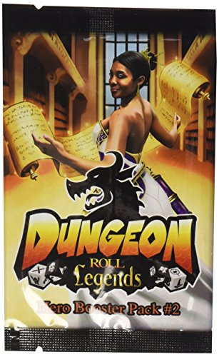 - Dungeon Roll: Legends (Hero Booster #2) Dice Game Expansion