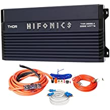Hifonics TMA-2000.4 2000w 4-Channel Marine Boat ATV/UTV/RZR Amplifier+Amp Kit
