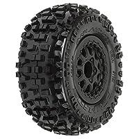 PROLINE 118213 Badlands SC 2.2/3.0 M2 Tires (2) Mtd On Renegade Wheels