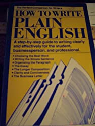 How to Write Plain English