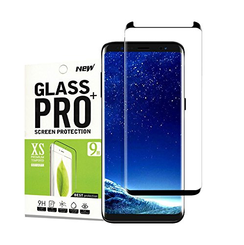 For Galaxy S9 Plus Screen Protector, Timbay High Definition 3D Curve Edge Anti-Scratch Anti-fingerprint Bubble Free Tempered Glass Screen Protector for Samsung Galaxy S9 Plus