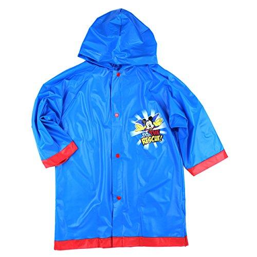 0b2f722ab Disney Mickey Mouse ClubHouse Boys Blue Rain Slicker -Size - Import ...