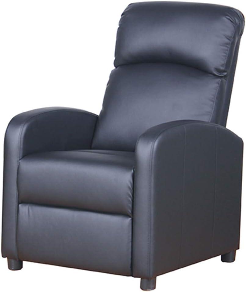 Sillon Relax Electrico Reclinable de Masaje con función Calor, Mando a Distancia Incluido, Color Negro, Dimensiones 65x89x101