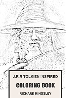 Amazon.com: The Lord of the Rings Movie Trilogy Colouring Book ...