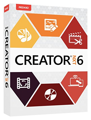 Software : Roxio Creator NXT 6 Complete CD/DVD Burning and Creativity Suite for PC