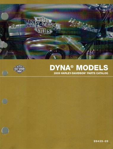 2009 Harley-Davidson Dyna Models Parts Catalog, Part Number 99439-09 ()