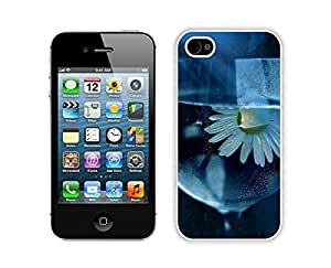 Element Case For Ipod Touch 5 Cover Durable Soft Silicone PC Beautiful Daisy, Flower, Glass, Water White Phone Protective for Ipod Touch 5