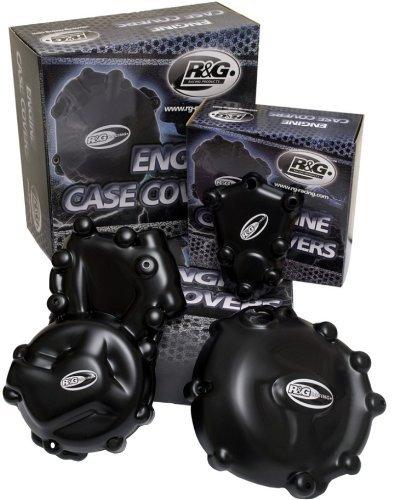 R&G(アールアンドジー) エンジンケースカバーセット ポリプロピレン ブラック 950SMR 990SUPERDUKE[スーパーデューク] 990ADVENTURE [アドベンチャー] RG-KEC0010BK   B005JWJT42