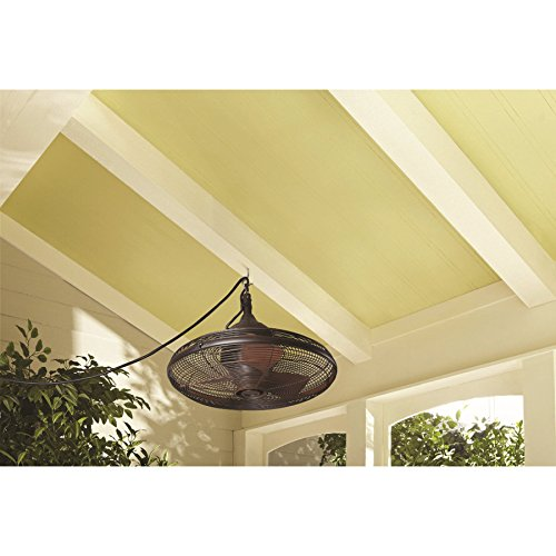 Allen Roth 20 In Valdosta Dark Oil Rubbed Bronze Outdoor Ceiling Fan Com