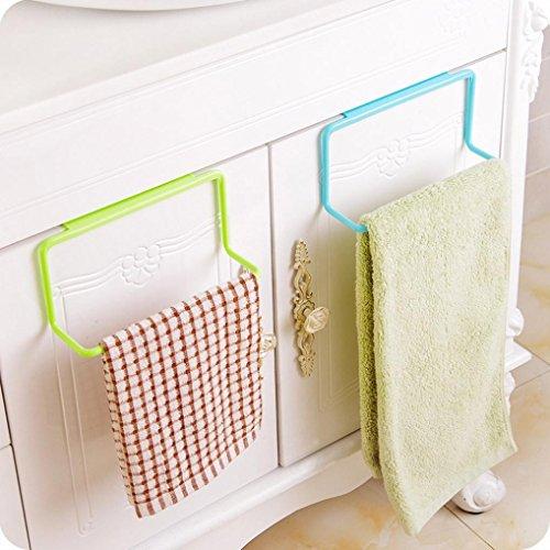 Binmer tm towel rack hanging holder organizer bathroom for Garderobe x3