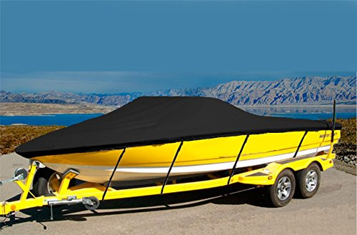 CRV-SBU 7oz Solution Dyed Polyester Material Custom Exact FIT Boat Cover BAYLINER 2050 Capri SS 1994-1997