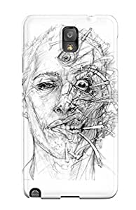 [LvDwkKs1161nKNvn] - New Drawing Artistic Weird Head Abstract Artistic Protective Galaxy Note 3 Classic Hardshell Case