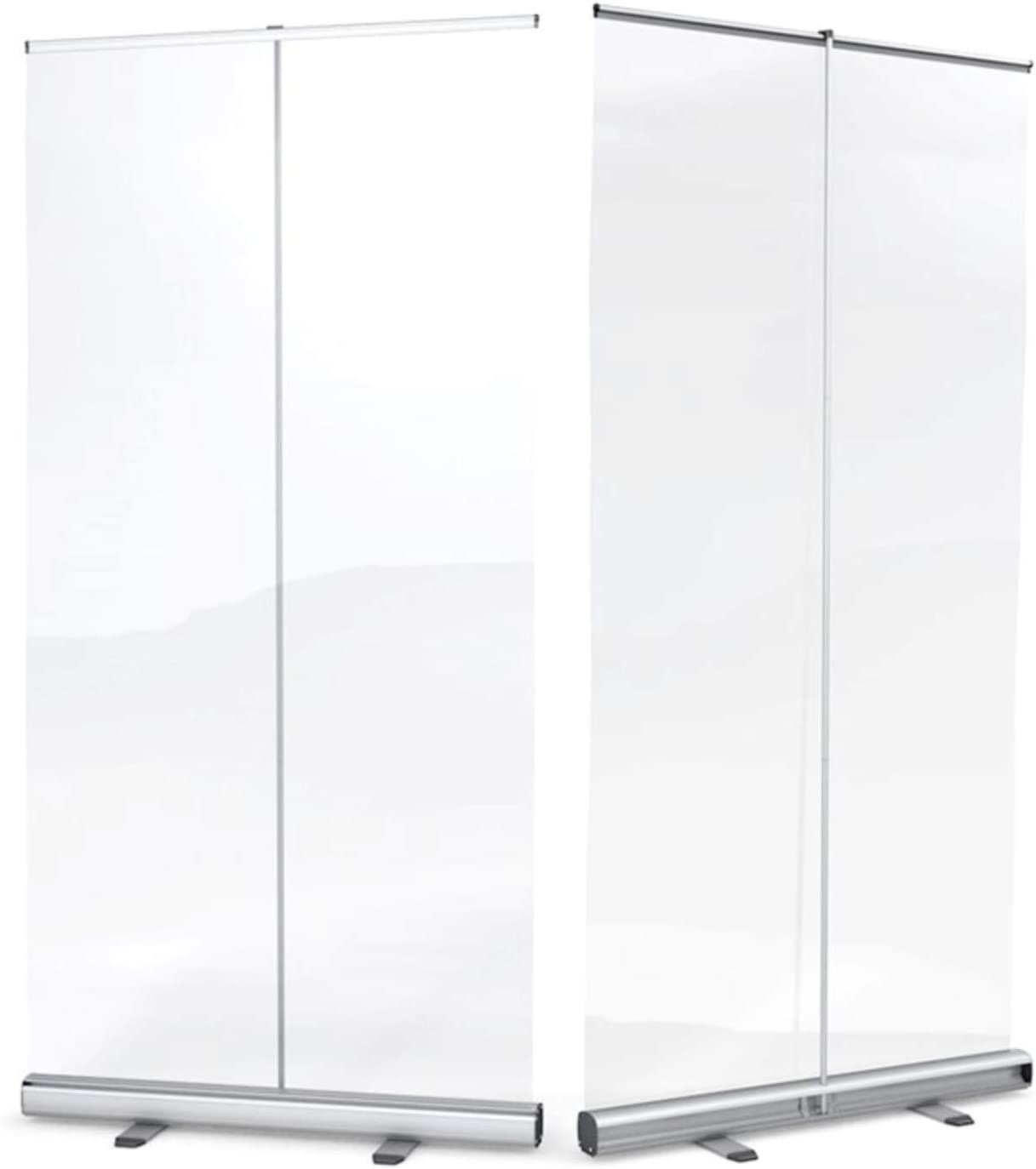 Needcraft Extra Large Retractable Clear Protective Screens 1500mm x 2000mm