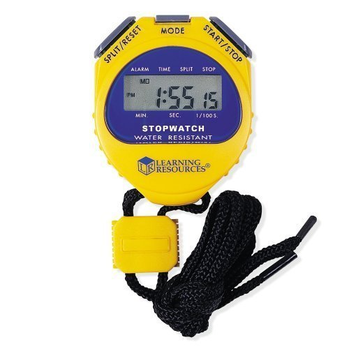 Learning Resources Big Digit Stopwatch Athletics, Exercise, Workout, Sport, Fitness by Learning Resources