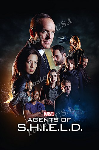 Posters USA Marvel Agents of Shield TV Series Show Poster GLOSSY FINISH - TVS155 (24